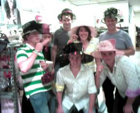 Mad Hatters Tea Party, you can also have this great party at your Treasure Hunt.